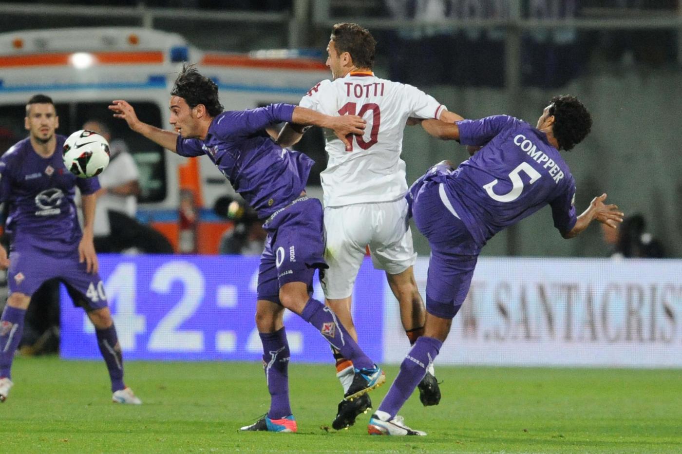 Roma vs Fiorentina